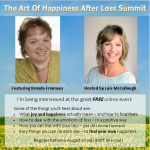Happiness after loss summit